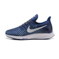Best Sale Online Nike Air Zoom Pegasus All Out Flyknit Light Blue White Black