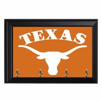 Texas Longhorns Football Decortive Wall Key Hanging Plaque