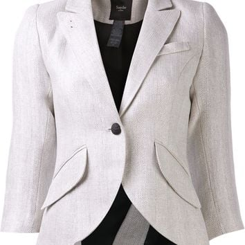 Smythe One Button Blazer