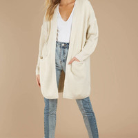 Lost Then Found Chunky Knit Cardigan