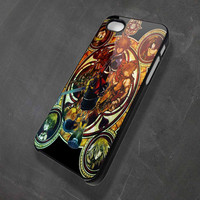 Kingdom of heart stained glass iPhone 4/4s/5/5c/5s, Samsung Galaxy S2/S3/S4, iPod 4 (only black)