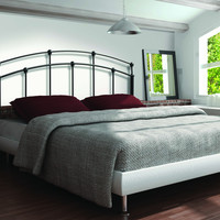 Black Queen/Full Size Combo Headboard or Footboard Only