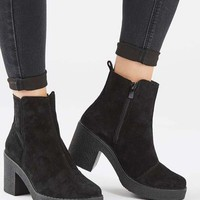 BAY Suede Heeled Boots - New In Shoes - New In
