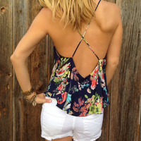 Island Life Low Back Top - FINAL SALE