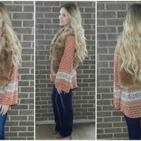 Rustic Holiday Top