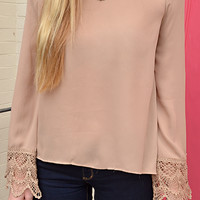 I'll Go Anywhere With You Top: Tan | Hope's