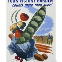 Your Victory Garden Poster Giclee Print at Art.com