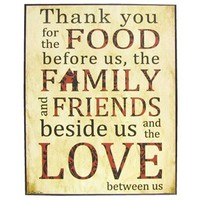 Thank You for the Food Plaque | Shop Hobby Lobby