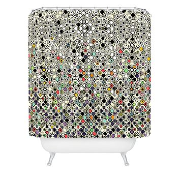 Sharon Turner Cellular Ombre Shower Curtain