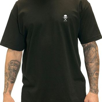 "Men's ""Standard Issue"" Tee by Sullen Clothing (Black/White)"