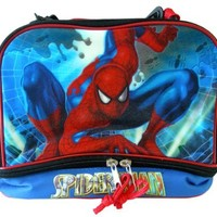 Marvel Heroes character lunch box- The Amazing Spiderman lunch pale