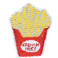 French Fries Iron-On Patch