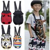 Carrier Dog Front And Back Five Holes Backpack