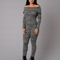 Condition Jumpsuit - Black