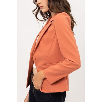 Single button Vertigo Blazer