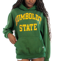 Vintage 90's Stoners Go to College Too Man Hoodie  - One Size Fits Many