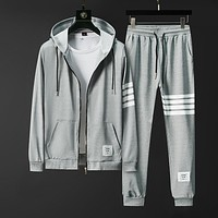 2020 Brand New Fall Men Sets Pants Clothing Sweatsuit Cardigan Fashion Hoodies Clothes Trousers Sportswear Sweatpants Tracksuits