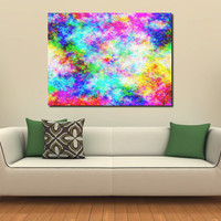 Large XXL Abstract Print Eye of the Storm Bright Colors 40x30 Limited Edition