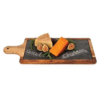 Slate and Wood Paddle by Twine®