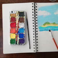 Watercolor Palette Phone Case