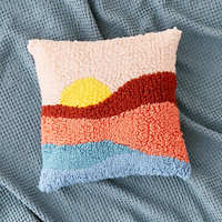 Sunset Shag Throw Pillow | Urban Outfitters