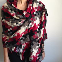 Blanket Scarf, Chistmas Gift, Women Accessories, Winter Accessories, Scarf, Oversize Scarf