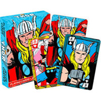 The Mighty Thor Marvel Playing Cards