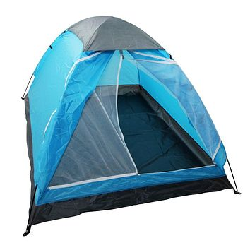 yodo Lightweight 2 Person Camping Backpacking Tent with Carry Bag, Multi Small package-Blue