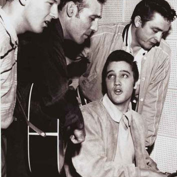 Million Dollar Quartet Broadway Show Poster 24x36