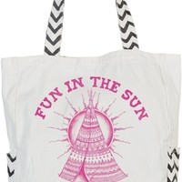 Billabong Girls' Free Fun Tote Bag Cool Wip One