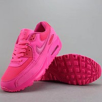 Trendsetter Nike Air Max 90  Women Men Fashion Casual Old Skool Low-Top  Shoes