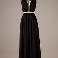 Midnight Maxi Dress - Black