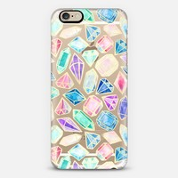 Watercolor Gems Intense iPhone 6s case by Tangerine- Tane | Casetify