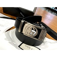Inseva 2020 GUCCI new simple high-end wild belt