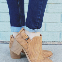 Spellbound Booties - Toffee