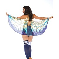 Egyptian Goddess Butterfly Rave Cape