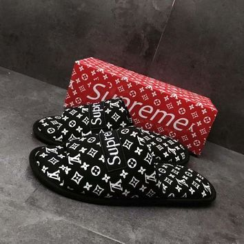 Home Shoes Unisex Couple Slippers
