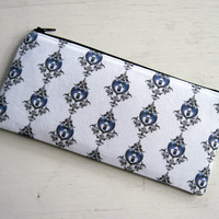 Doctor Who Tardis Zipper Pouch, Pencil Pouch, Gadget Bag, Cosmetic Pouch
