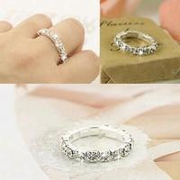 Jewelry Silver plated Rings Wedding Bands