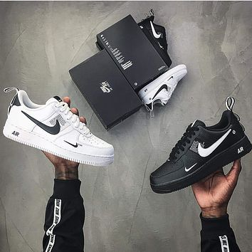 Nike Air Force 1 Utility low-top casual all-match sneakers shoes