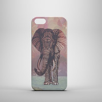PASTEL CORAL ELEPHANT Design Custom Case by ditto! for iPhone 6 6 Plus iPhone 5 5s 5c iPhone 4 4s Samsung Galaxy s3 s4 & s5 and Note 2 3 4