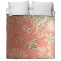 Flowered Bed Spread