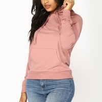 Everyday Classic Hoodie - Dusty Pink