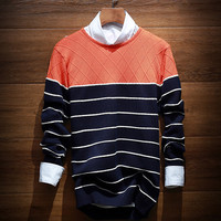 Fashion Men's Vintage Comfortable Soft Knitted Sweater
