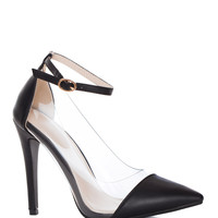 Shut Up and Dance Pumps in Black