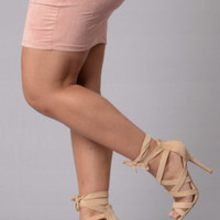 Wrapped Up Heel - Natural