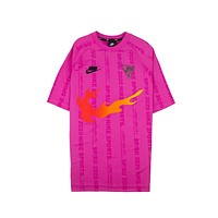 Nike Men's Sportswear NSW Active Fuchsia T-Shirt