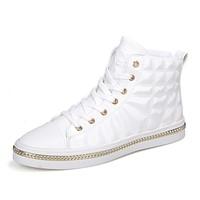 Fashion Glitter PU Leather Ankle Boots