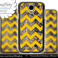 Camo Yellow Chevron Galaxy S4 case S5 Real Tree Camo Deer Personalized RealTree Samsung Galaxy S3 Case Note 2 3 Cover