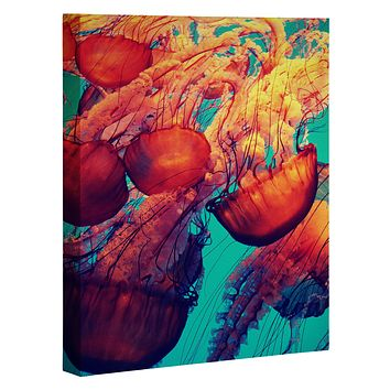 Krista Glavich Jellyfish 7 Art Canvas